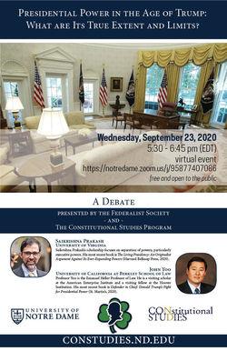 9.23 Debate poster