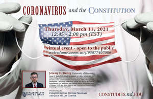 Coronavirus and the Constitution Poster
